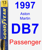 Passenger Wiper Blade for 1997 Aston Martin DB7 - Premium