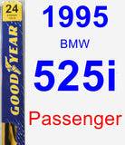 Passenger Wiper Blade for 1995 BMW 525i - Premium