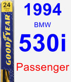 Passenger Wiper Blade for 1994 BMW 530i - Premium