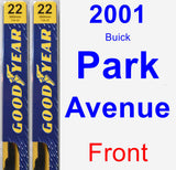 Front Wiper Blade Pack for 2001 Buick Park Avenue - Premium