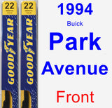 Front Wiper Blade Pack for 1994 Buick Park Avenue - Premium