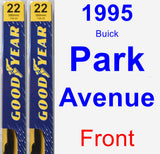 Front Wiper Blade Pack for 1995 Buick Park Avenue - Premium