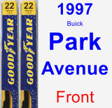 Front Wiper Blade Pack for 1997 Buick Park Avenue - Premium