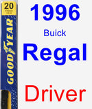 Driver Wiper Blade for 1996 Buick Regal - Premium