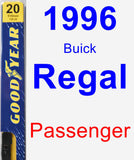 Passenger Wiper Blade for 1996 Buick Regal - Premium