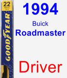 Driver Wiper Blade for 1994 Buick Roadmaster - Premium