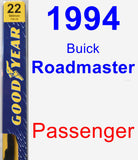Passenger Wiper Blade for 1994 Buick Roadmaster - Premium