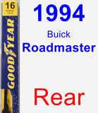 Rear Wiper Blade for 1994 Buick Roadmaster - Premium