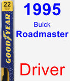 Driver Wiper Blade for 1995 Buick Roadmaster - Premium