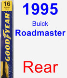 Rear Wiper Blade for 1995 Buick Roadmaster - Premium