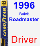 Driver Wiper Blade for 1996 Buick Roadmaster - Premium