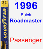 Passenger Wiper Blade for 1996 Buick Roadmaster - Premium