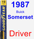 Driver Wiper Blade for 1987 Buick Somerset - Premium