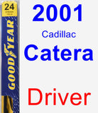 Driver Wiper Blade for 2001 Cadillac Catera - Premium