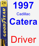 Driver Wiper Blade for 1997 Cadillac Catera - Premium