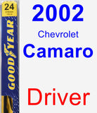 Driver Wiper Blade for 2002 Chevrolet Camaro - Premium