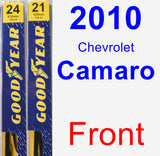 Front Wiper Blade Pack for 2010 Chevrolet Camaro - Premium