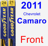 Front Wiper Blade Pack for 2011 Chevrolet Camaro - Premium
