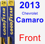 Front Wiper Blade Pack for 2013 Chevrolet Camaro - Premium