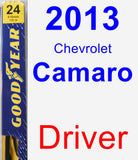 Driver Wiper Blade for 2013 Chevrolet Camaro - Premium