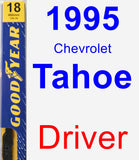 Driver Wiper Blade for 1995 Chevrolet Tahoe - Premium