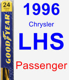 Passenger Wiper Blade for 1996 Chrysler LHS - Premium