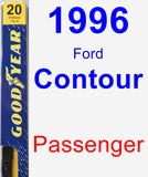 Passenger Wiper Blade for 1996 Ford Contour - Premium