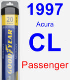 Passenger Wiper Blade for 1997 Acura CL - Assurance