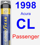 Passenger Wiper Blade for 1998 Acura CL - Assurance