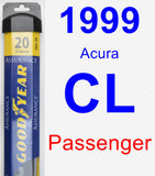 Passenger Wiper Blade for 1999 Acura CL - Assurance