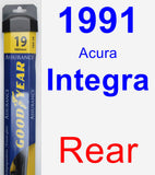 Rear Wiper Blade for 1991 Acura Integra - Assurance
