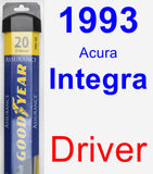 Driver Wiper Blade for 1993 Acura Integra - Assurance