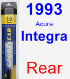 Rear Wiper Blade for 1993 Acura Integra - Assurance