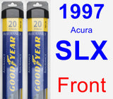 Front Wiper Blade Pack for 1997 Acura SLX - Assurance