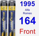 Front Wiper Blade Pack for 1995 Alfa Romeo 164 - Assurance