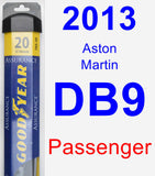 Passenger Wiper Blade for 2013 Aston Martin DB9 - Assurance