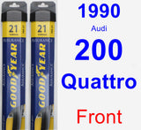 Front Wiper Blade Pack for 1990 Audi 200 Quattro - Assurance
