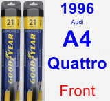 Front Wiper Blade Pack for 1996 Audi A4 Quattro - Assurance