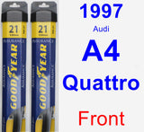 Front Wiper Blade Pack for 1997 Audi A4 Quattro - Assurance
