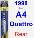 Rear Wiper Blade for 1998 Audi A4 Quattro - Assurance