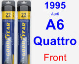 Front Wiper Blade Pack for 1995 Audi A6 Quattro - Assurance