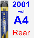 Rear Wiper Blade for 2001 Audi A4 - Assurance