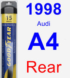 Rear Wiper Blade for 1998 Audi A4 - Assurance