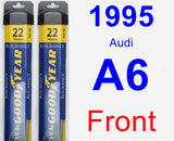 Front Wiper Blade Pack for 1995 Audi A6 - Assurance