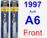 Front Wiper Blade Pack for 1997 Audi A6 - Assurance