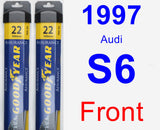 Front Wiper Blade Pack for 1997 Audi S6 - Assurance