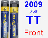 Front Wiper Blade Pack for 2009 Audi TT - Assurance