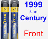 Front Wiper Blade Pack for 1999 Buick Century - Assurance