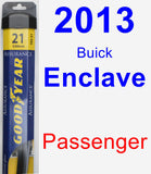 Passenger Wiper Blade for 2013 Buick Enclave - Assurance