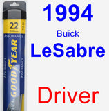 Driver Wiper Blade for 1994 Buick LeSabre - Assurance